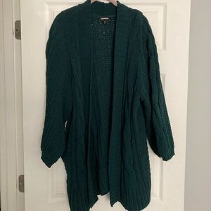 Express Oversized Cardigan Sweater Size M